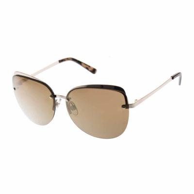 Bisou Bisou Rimless Round UV Protection Sunglasses