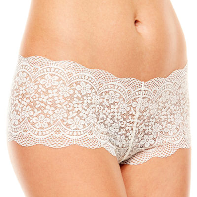 Ambrielle Crochet Lace Cheeky Panty