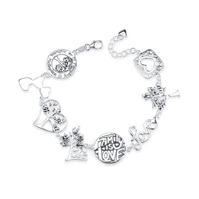 Inspired Moments Womens Sterling Silver Bolo Bracelet