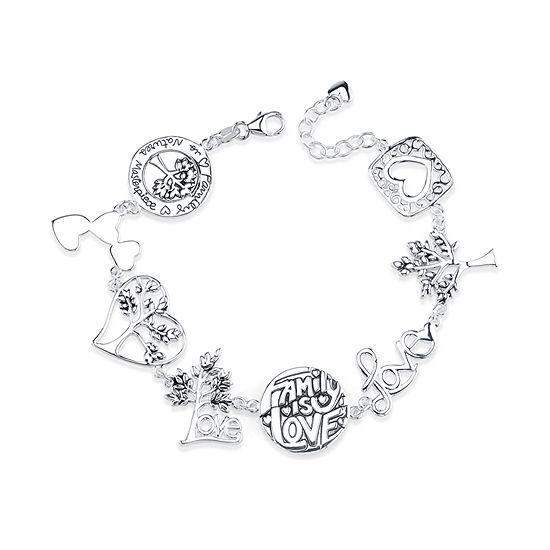 Inspired Moments Sterling Silver Bolo Bracelet