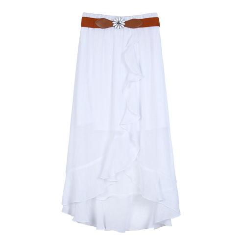 by&by girl Knit Handkerchief Skirt - Big Kid Girls