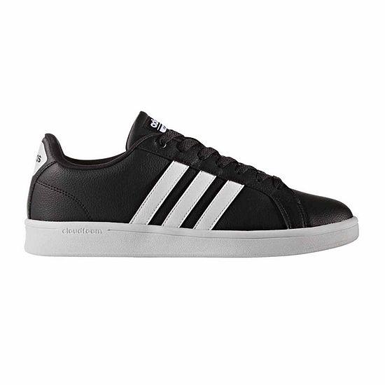 Adidas® Cloudfoam Advantage Stripe Mens Athletic Shoes