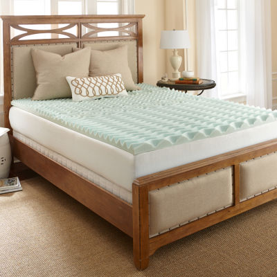 "PuraSleep 3"" Energi Ultra Support Reversible Memory Foam Mattress Topper"