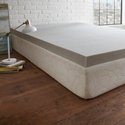 "PuraSleep 3"" Carbon Tech Gel Cooled Memory Foam Mattress Topper"