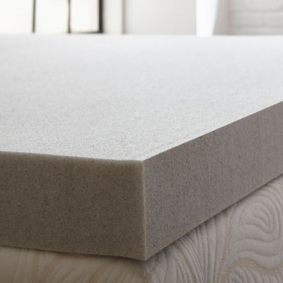 PuraSleep 3 Carbon Tech Gel Cooled Memory Foam Mattress Topper