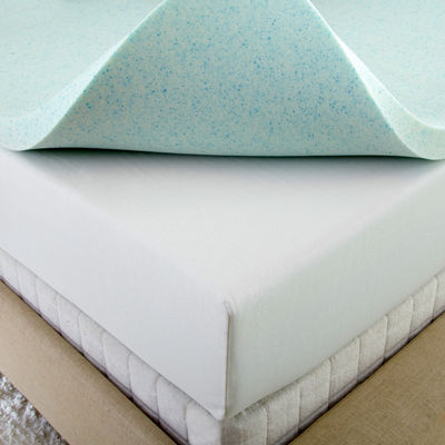 "Sleepwise 2"" Gel Memory Foam Mattress Topper"