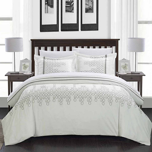 Chic Home Michael 7-pc. Complete Bedding Set With Sheets