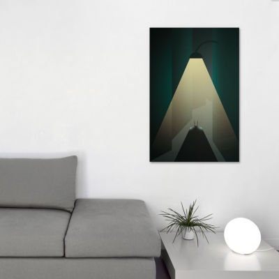 Icanvas Alone In The Dark Canvas Art