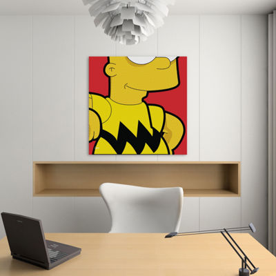 Icanvas Bart Brown Canvas Art