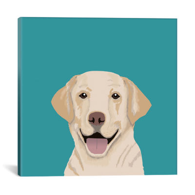 Icanvas Labrador Canvas Art
