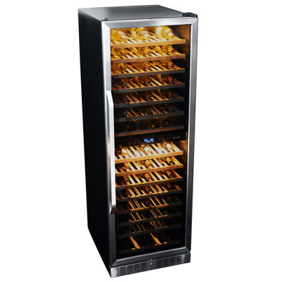 NewAir AWR-1600DB Premier Gold Series 160 Bottle Built-in Compressor Wine Cooler
