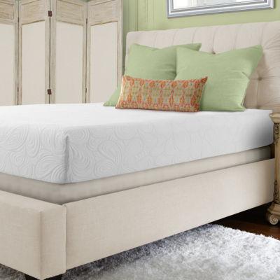 "PuraSleep 10""  Laguna Gel Cooled Luxury Memory Foam Mattress"