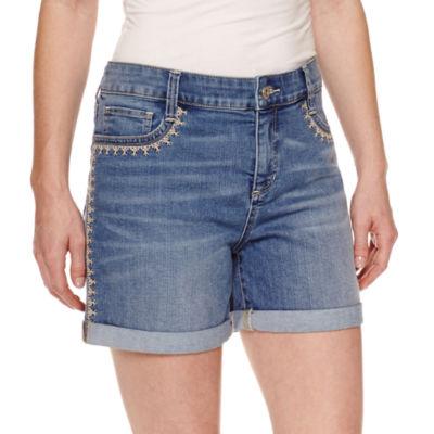 """St. John's Bay Denim 5"""" Shorts"""