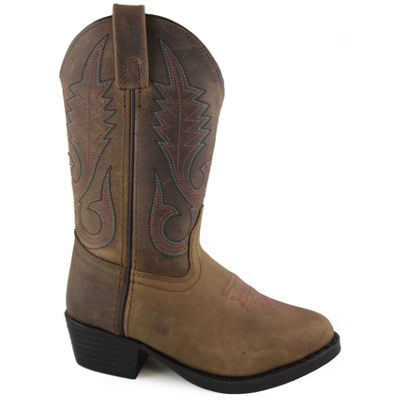 Smoky Mountain Girl's Annie Distress Leather Cowboy Boot