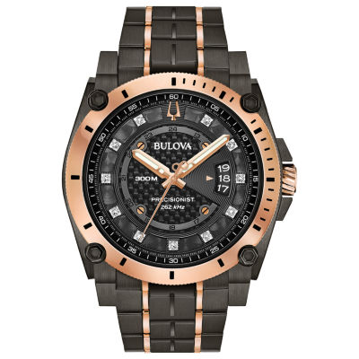 Bulova Mens Two Tone Bracelet Watch-98d149
