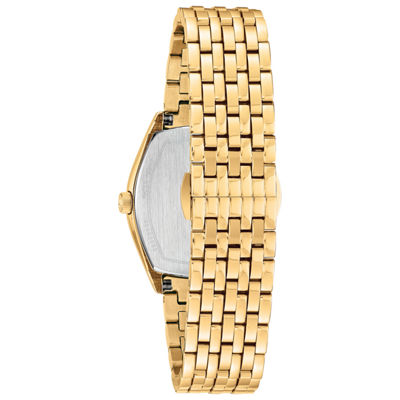 Bulova Womens Gold Tone Bracelet Watch-97m116
