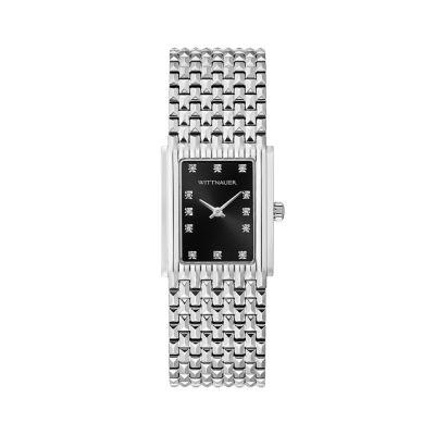 Wittnauer Womens Silver Tone Bracelet Watch-Wn4091