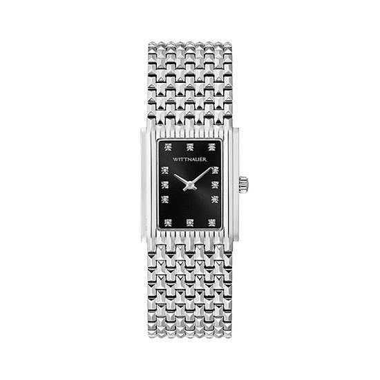 Wittnauer Womens Silver Tone Bracelet Watch Wn4091