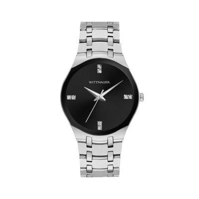 Wittnauer Womens Silver Tone Bracelet Watch-Wn4096