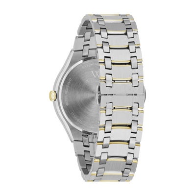 Wittnauer Mens Two Tone Bracelet Watch-Wn3086