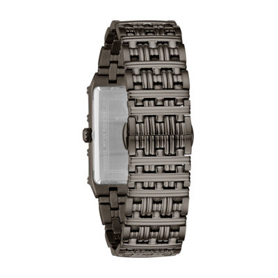 Wittnauer Mens Silver Tone Bracelet Watch-Wn3077