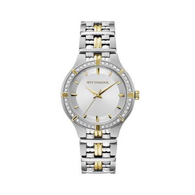 Wittnauer Womens Silver Tone Bracelet Watch-Wn4089