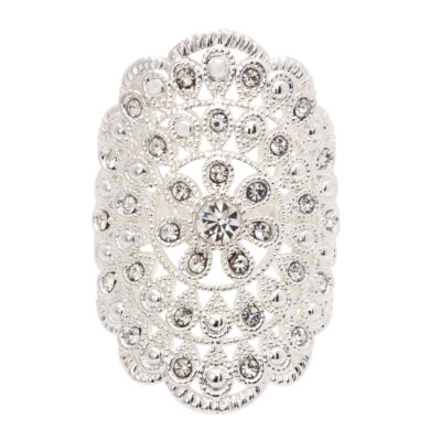 Sparkle Allure Womens Cocktail Ring
