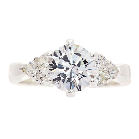 Sparkle Allure 3-Stone Engagement Ring, 7