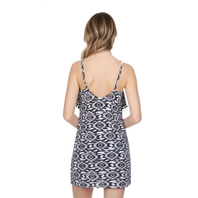 Arizona Knit Swimsuit Cover-Up Dress-Juniors