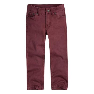 Levi's® ™ Flat Front Pants-Big Kid Boys