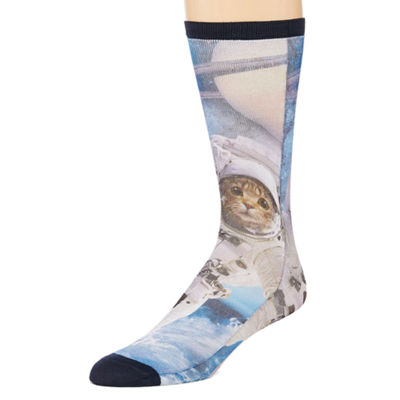 Novelty Socks 1 Pair Crew Socks-Mens