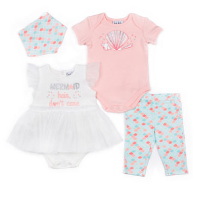 Nicole Miller Layette Set-Baby Girls