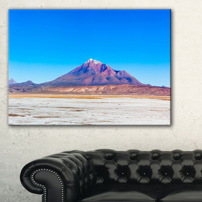 Designart Altiplano Near Uyuni Panorama Canvas Art