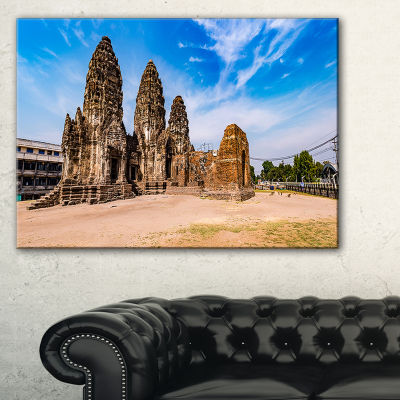 Designart Ancient Temple In Thailand Panorama Canvas Art