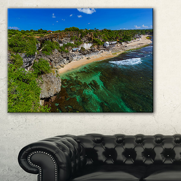 Designart Balangan Beach Bali Indonesia Canvas Art