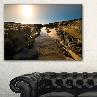Designart Beautiful Landscape At Norah Head Canvas Art