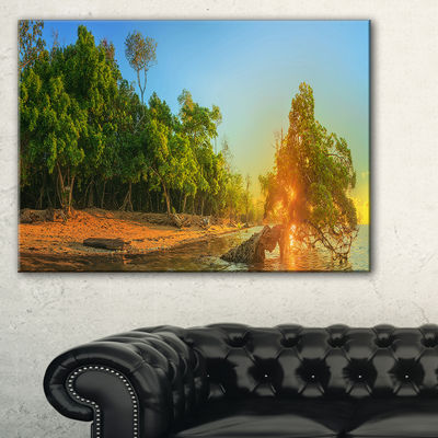 Designart Beautiful Thailand Tropical Beach Canvas Art