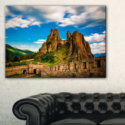 Designart Belogradchik Fortress And Cliffs Bulgaria Canvas Art