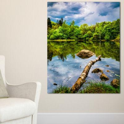 Designart Boyana Lake In Sofia Bulgaria Canvas Art