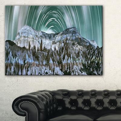 Designart Cappadocia Valley Panoramic View Canvas Art