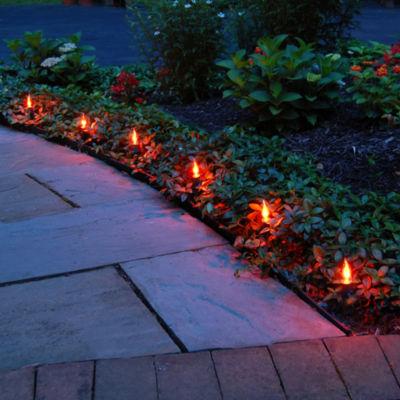 Electric Flickering Pathway Lights (Set of 10)