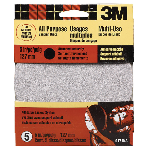 "3M 9171Es 5"" Medium Adhesive Backed Discs"