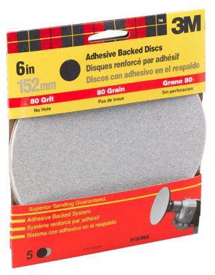 3M 9183Dc-Na 6IN Medium Adhesive Backed Discs