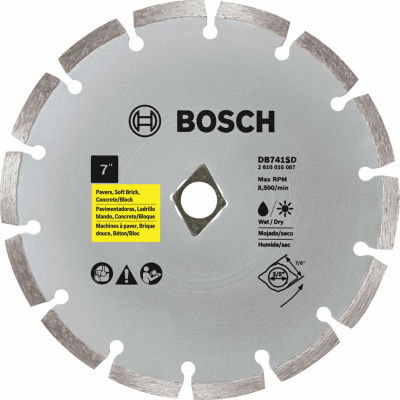 "Bosch Db741Sd 7"" Diamond Standard Segmented Rim Blade"