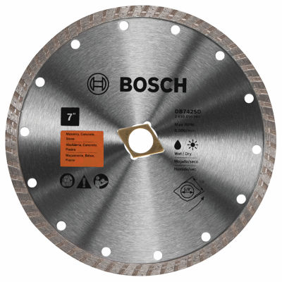"Bosch Db742Sd 7"" Diamond Standard Turbo Rim Blade"