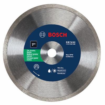 """Bosch Db743C 7"""" Premium Continuous Rim Diamond Blade"""""""