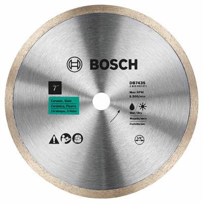 "Bosch Db743S 7"" Standard Continuous Rim Diamond Blade"