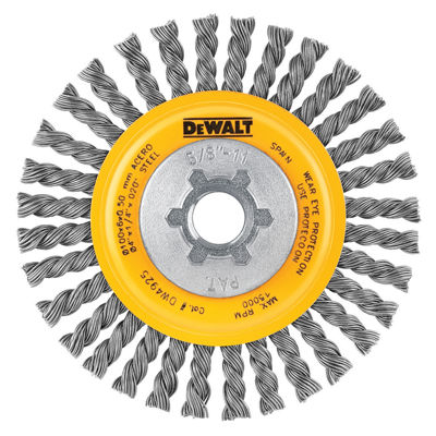 "Dewalt Dw4925 4"" Stringer Bead Wire Wheel"