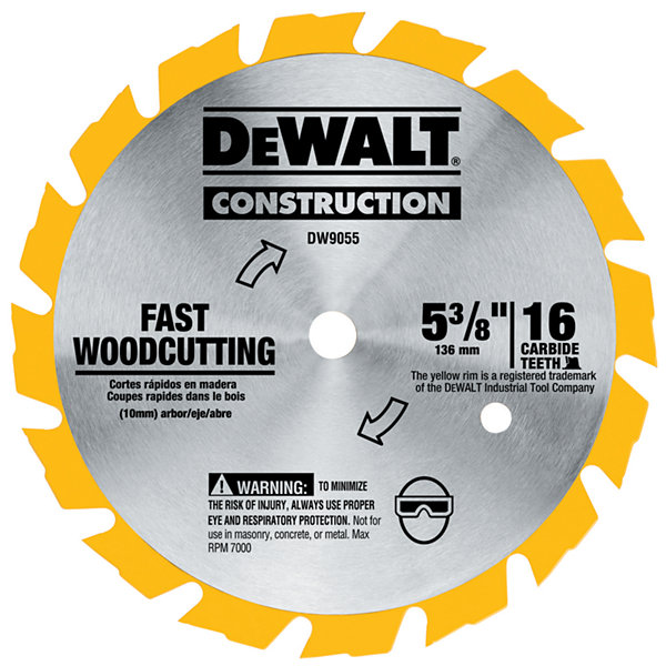 Dewalt Dw9055 5-3/8IN Cordless Circular Saw SteelBlade