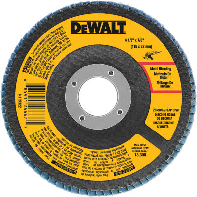"Dewalt Dwa8207 4-1/2"" 60 Grit Flap Disc"